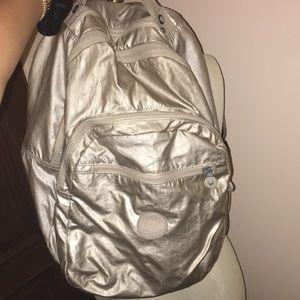 Kipling Metallic Seoul Large Backpack